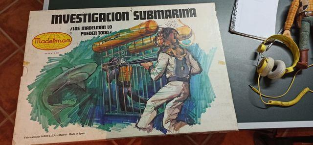 SUPER EQUIPO INVESTIGACIÓN SUBMARINA MADELMAN