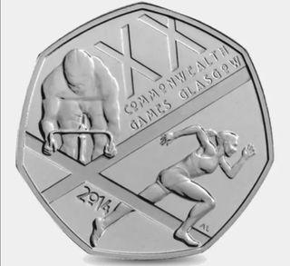 2017 ISLE OF MAN Loaghtan Sheep Ram 50p coin