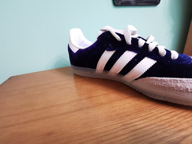 Adidas Samba OG 420 in Purple Velvet
