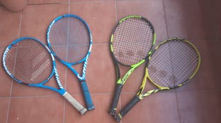 Juego 4 raquetas Babolat 25. Junior