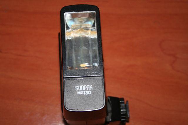 flash sunpak mx130