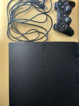 PS3 + 1 mando + 5 juegos