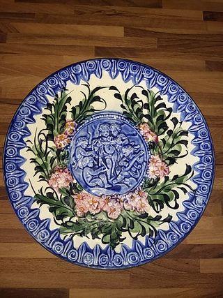 Plato decorativo para colgar