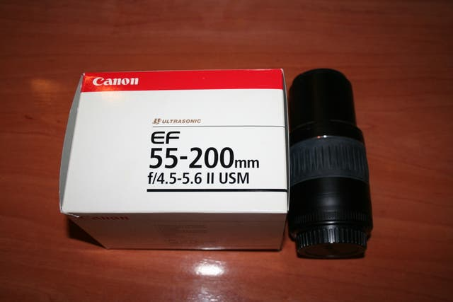 teleobjetivo canon ef 55-200mm f/4.5-5.6 II usm
