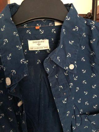 Camisa anclas Dockers de segunda mano por 10 € en