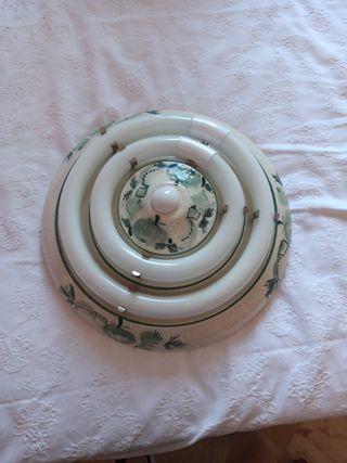 Plafón de cerámica para cocina en verde