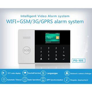 Alarma Casa GSM/Wifi sin cuotas