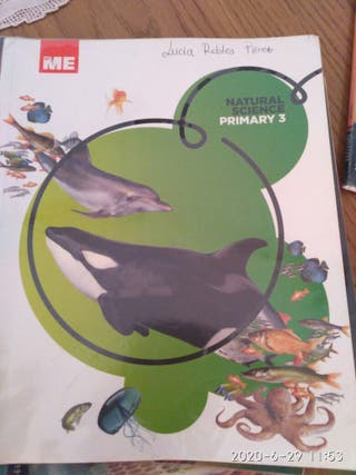 libro texto natural science tercero 3 primaria