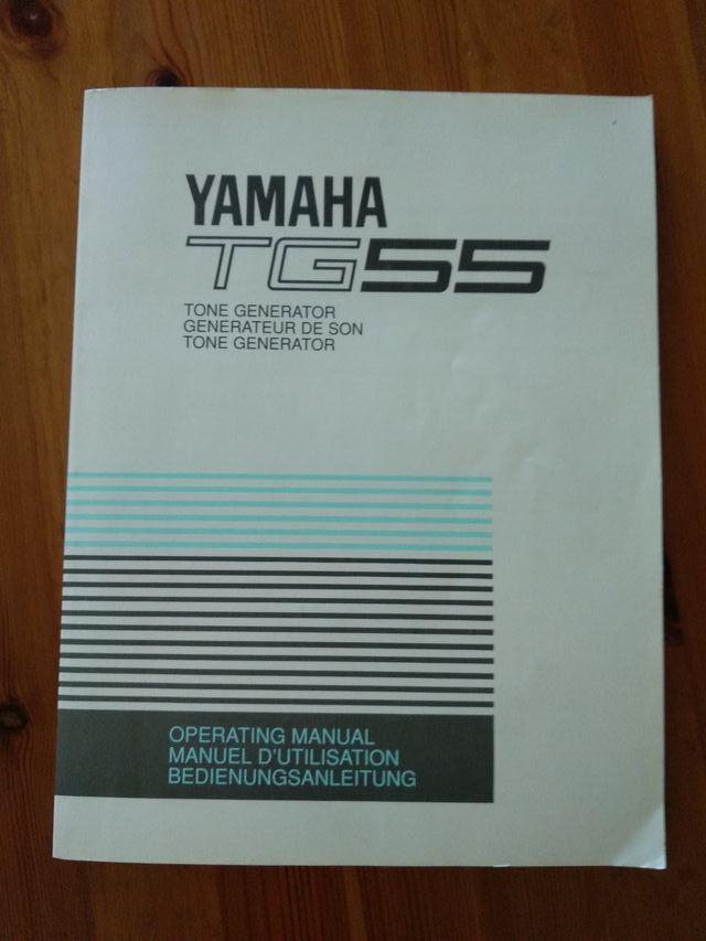 SINTETIZADOR YAMAHA TG55. MODELO RACK