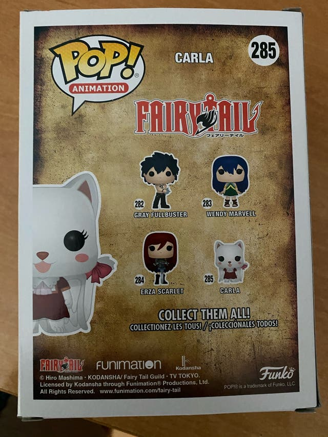 Funko pop Carla - Fairy Tail #285