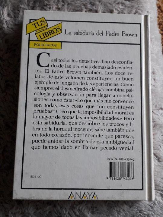 Tus Libros Anaya 109. La sabiduría del Padre Brown