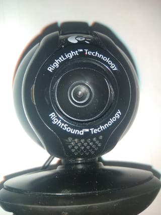 Webcam Logitech (perfecto estado)