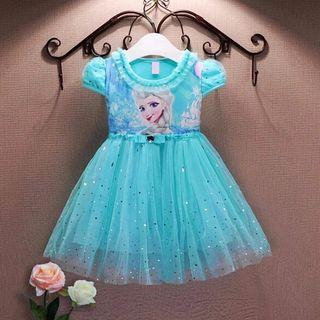 vestido niña bebé nuevo disfraz Frozen 2 y 3 años