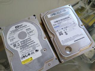 2 Discos Duros 320 y 250 Gb
