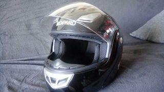 casco moto XL Leopard