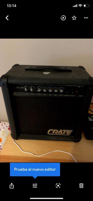 Guitarra eléctrica y Ampli