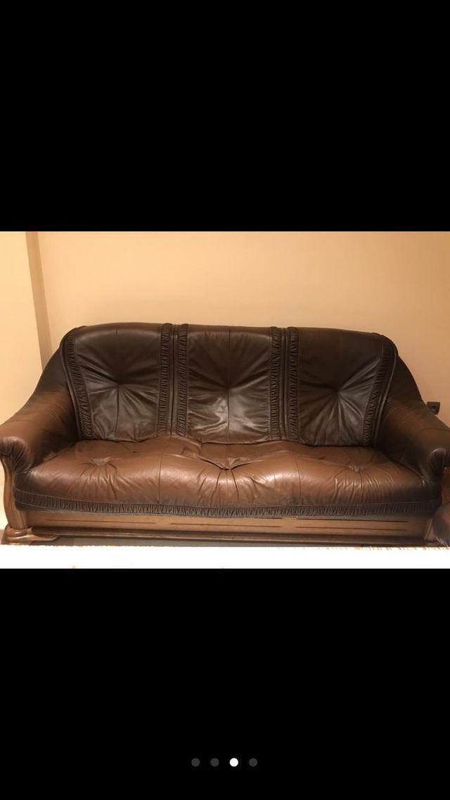 sillon sofa roble
