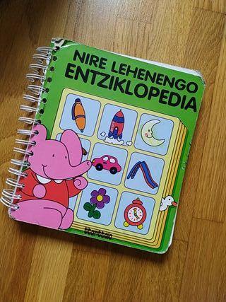 Libro para aprender euskera.