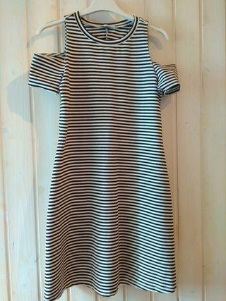 Vestido rayas Zara (Talla S).