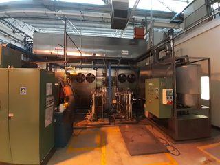 Lavadora industrial de ultrasonidos para piezas
