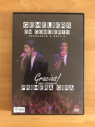 DVD gemeliers en concierto
