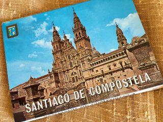 Libro postales Santiago de Compostela