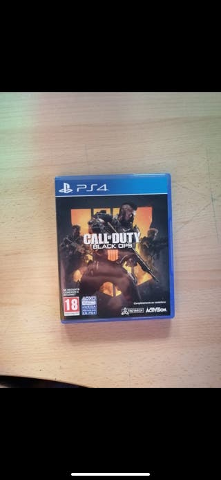 Juego call of dutty ps4