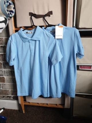 Blue School shirt