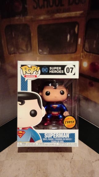 Funko Pop Superman Chase