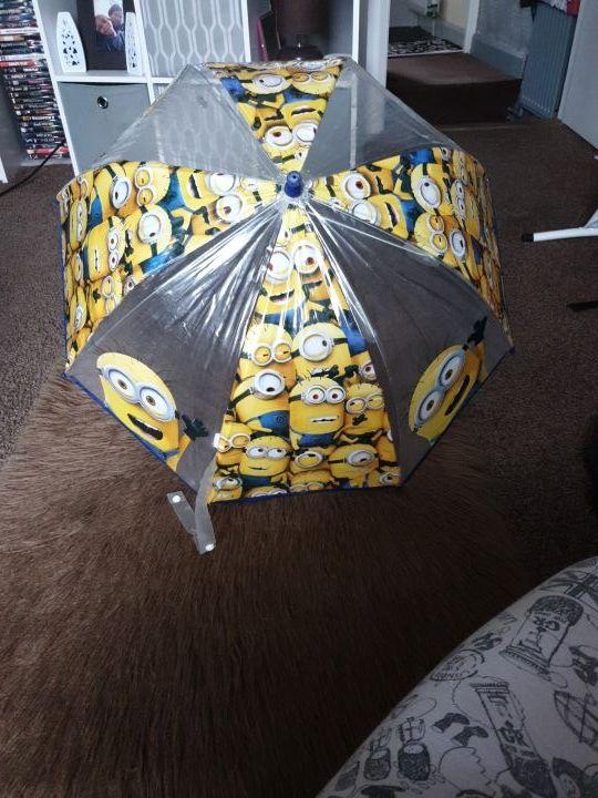 a minion umbrella