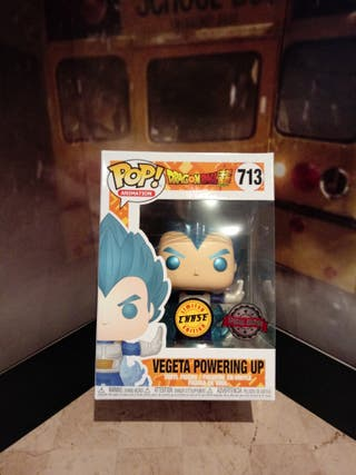 Funko Pop Vegeta powering up