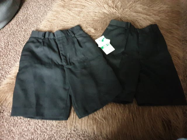 school shorts 7 to 8 years