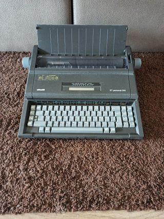 Máquina escribir eléctrica OLIVETTI
