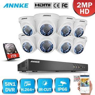 Kit cámaras de vigilancia con Hdd