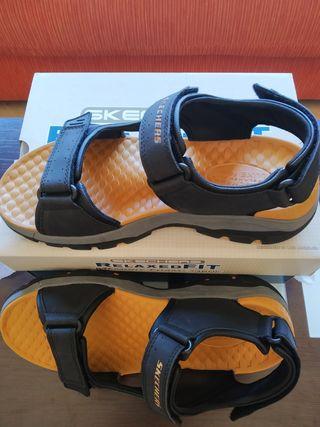 Sandalias Skechers hombre
