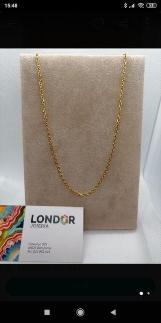 cadena de oro de 18 quilates 13,9 gr.