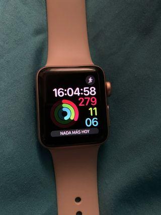 Apple Watch serie 3 rosa