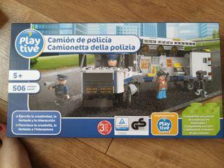 juego tipo Lego policia