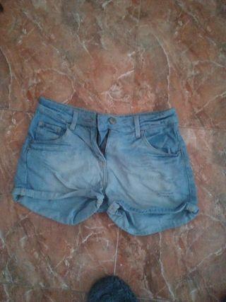 pantalón corto Zara talla 36