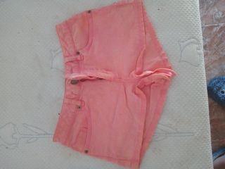pantalón corto talla M