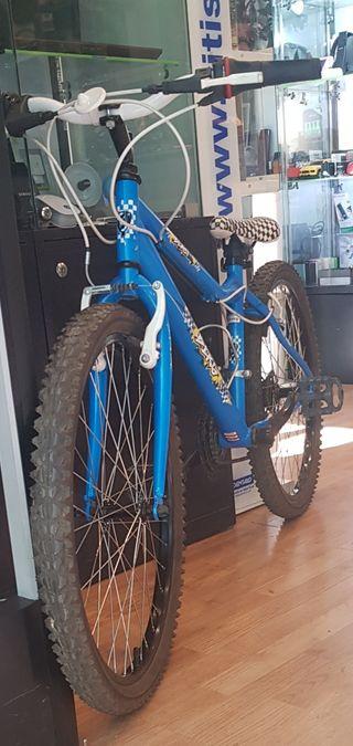Bicicleta Infantil MTB Berg Blast 24 pulgadas