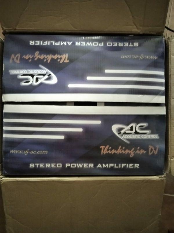 Amplificador casi sin uso