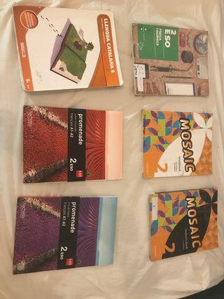 Libros 2n ESO (inglés + francés)