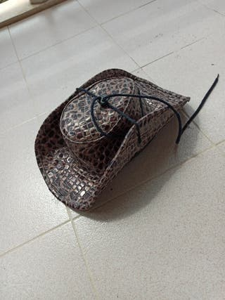 sombrero cowboy polipiel