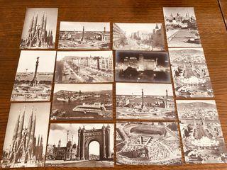 14 fotos/postales de Barcelona años 60