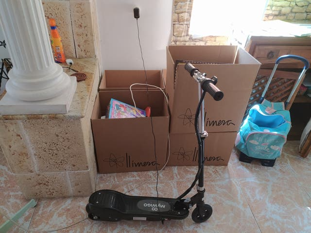 patinete eléctrico para niñ@ mywigo