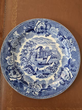 Plato porcelana inglesa