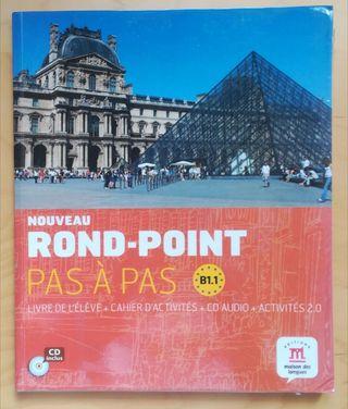 Libro Francés B1.1 Bachillerato Nouveau RondPoint