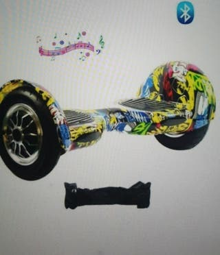 Hover board with bluetooth