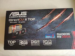Tarjeta gráfica Asus R9 280X 3GB